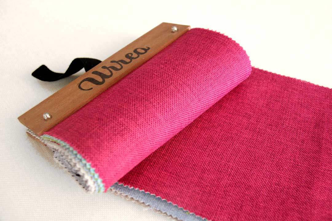 Muestrario tejidos manteles